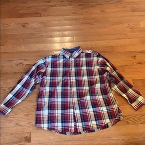 Roundtree and Yorke Casuals Button-Up Shirt. XL